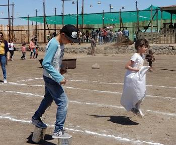 Con colorida fiesta criolla en salitrera humberstone, partieron celebraciones dieciocheras a la manera pampina