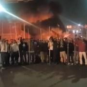 Con elocuente video sobre la toma del recinto amurallado, trabajadores fijan su posición