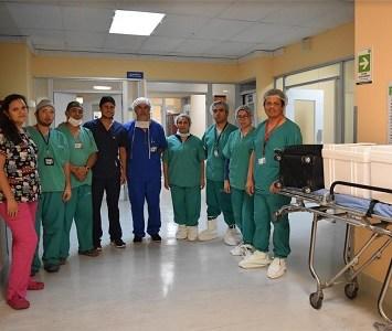 Familiares de la pequeña Sayen decidieron donar los órganos de la pequeña. Generosa decisión para salvar otras vidas