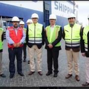 Vicepresidente de CORFO, inspecciona cadena logística desde el Puerto hasta Zona Franca