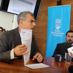 Acusa alcalde Mauricio Soria que hay co Gobierno en la Región que actúa con fines electorales. Bienes Nacionales le niega la sal y el agua para desarrollar proyectos en Iquique
