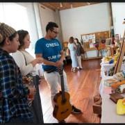 Pacientes y familiares del Centro de Salud Mental exponen sus obras en Casa de la Cultura