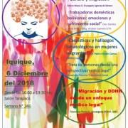 Seminario sobre derechos humanos enfocado en las mujeres migrantes, hoy en Iquique