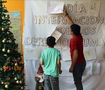 En residencia del Sename, también realizaron jornada de reflexión por los derechos humanos
