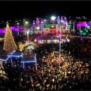 La remozada Plaza Belén es el espacio donde se levanta el colorido pesebre navideño de Alto Hospicio