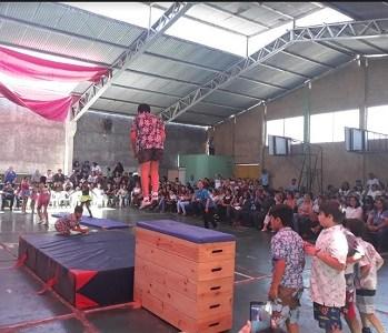 Con revista anual de gimnasia, Liceo Aníbal Pinto ya se apronta al cierre del año escolar 2018