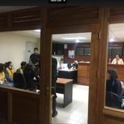 Con arraigo nacional quedaron los tres imputados por dañar el geoglifo Tunupa, en la Comuna de Huara