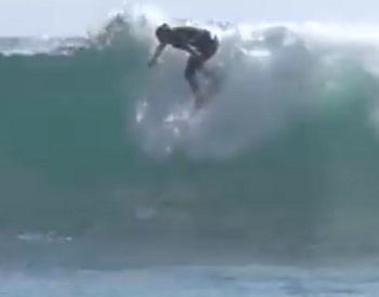 Joven iquiqueña de 14 años, es la rider nùmero uno de la primera fase del Circuito Nacional de Surf