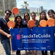 """Con apoyo de la Municipalidad de Iquique lanzan campaña de verano """"Senda Te Cuida"""""""