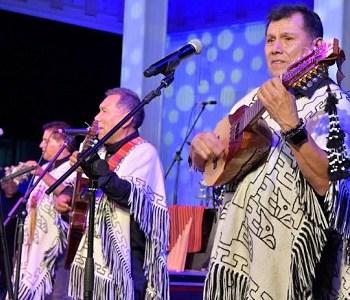 Todo un éxito el Festival del Tamarugo en La Tirana, que trajo a los grupos Sinergia, Los Kjarcas y Los Galos