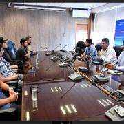 Trabajadores de empresa contratista de la eléctrica CGE, que cesó sus funciones dejó sueldos impagos, denunció situación ante el CORE