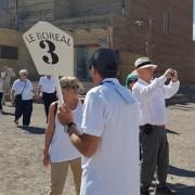 "Masivo recorrido por Salitrera Humberstone, realizan turistas del crucero de bandera francesa ""Le Boreal"""