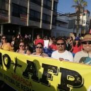 Tarapacá presente en masiva entrega en Congreso de propuesta de Proyecto de Ley por nuevos Sistema de Pensiones