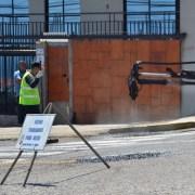 Equipo municipal en intenso operatvo catastra principales calles y avenidas para tapar baches
