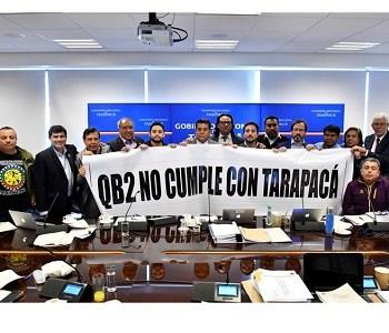 CORE emitió dos votos políticos. Uno contra proyecto QB2 y otro pidiendo la renuncia del Gobernador del Tamarugal