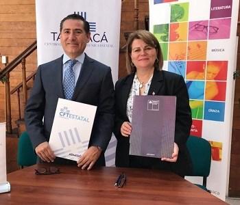 Para fomentar la creatividad, participación y socialización, CFT y Ministerio de las Culturas, firman convenio