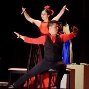 """Compañía de Danzas Flamencas """"Encontrados"""", se presentó en el marco  del Festival de Teatro y Danza de Iquique, FINTDAZ"""