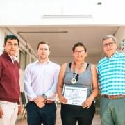 Estudiante de Administración de Empresas del CFT representará a la región en Campeonato Nacional de Halterofilia