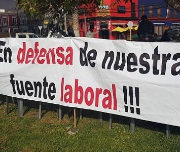 Tripulantes de Pesquera Camanchaca siguen en huelga legal, al no llegar a acuerdo con la empresa en porcentaje de aumento del sueldo base