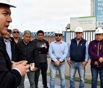 Pescadores de Caleta Cavancha denunciaron a CORES de Comisión de Medio Ambiente, que soportes de emisarios están dañados y con riesgo de colapsar