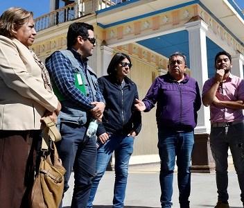 Comisión de Infraestructura sesiona en poblado de La Tirana, para apurar mejoras ante proximidad de la festividad religiosa