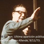 Allende ya habría muerto desangrado cuando un disparo asestado bajo su mentón hizo estallar la cabeza