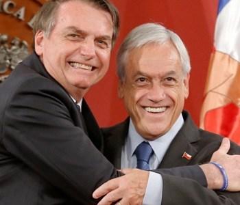 Sebastián Piñera evita críticas a Bolsonaro y pide a Bachelet justificar declaraciones y cifras del informe