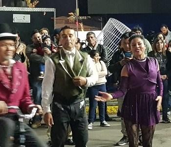 Circo en la Cuerda se transformó en un colorido atractivo este 18 de septiembre, en «Fiesta de la Chilenidad»