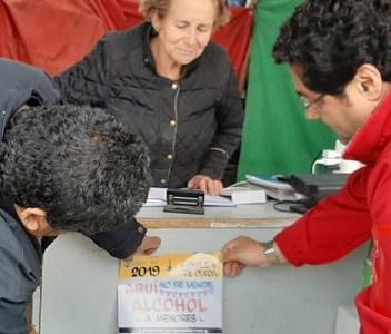 "Con lema de ""Aquí no se vende alcohol a menores"", SENDA promueve responsabilidad en ramaderos"