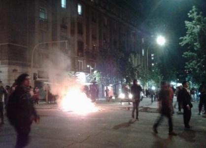 Sigue acá los hechos que ocurren en Santiago, tras el cacerolazo convocado por el alza de tarifas del metro