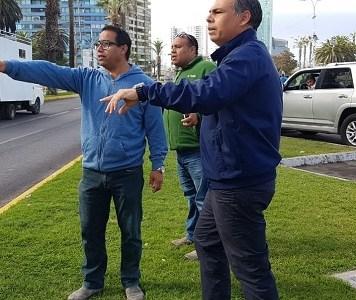 """Alcalde Mauricio Soria, tras inspección en sector de la protesta sabatina: """"Los gobiernos deben tomar como lección, que hay que escuchar a las personas"""""""