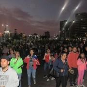 Multitudinaria marcha recorrió calles de Iquique. Al llegar al frontis de ex Regimiento Granaderos la manifestación recrudeció y militares repelieron con disparos.