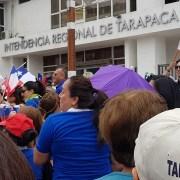 """Porque apoyan las """"justas demandas sociales"""", funcionarios del Gobierno regional se plegaron al paro general de este martes"""