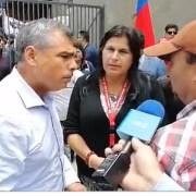 """Alcalde Mauricio Soria: """"Soy partidario de esta demanda social. Se necesita un trato justo"""""""