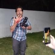 Reportero gráfico recibe postonazo disparado desde el interior de la Sexta División de Ejército