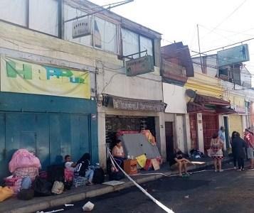 Dos menores y un adulto mueren en siniestro registrado en cité, donde familias viven en precarias condiciones
