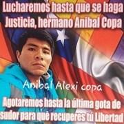 CORE JM Carvajal llama a reunir pruebas que aclaren participación de joven Aníbal Copa, preso en cárcel de Hospicio, acusado de manipular artefacto incendiario.