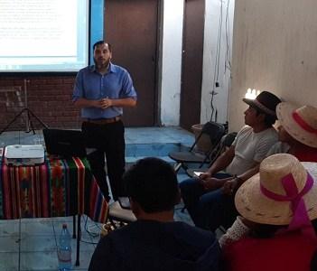 Escuela Constitucional implementada por Agrupación de Abogados realizó taller con jóvenes de los pueblos originarios