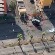 """Se viraliza video que muestra atropello en """"zona cero"""" a manifestante que por desconfianza prefirió no denunciar el hecho"""