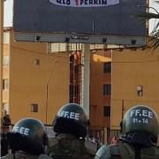 """CORE Pablo Zambra y represión en la """"zona cero"""": """"La violencia policial nunca deja de sorprendernos"""""""