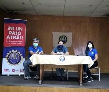 Anef llama a fortalecer la conciencia de clase y afirma que derechos de los trabajadores y la libertad sindical, no se negocian