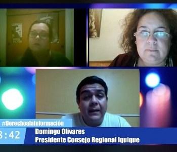 Colegio de Periodistas Iquique preocupado por las comunicaciones en tiempos de coronavirus
