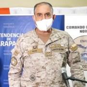 General Paiva anuncia que se cerrarán calles del centro y adyacentes a terminales agropecuario en Iquique y Alto Hospicio