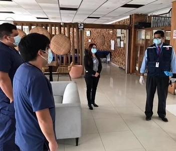 Más de  360 personas cumplen con cuarentena en las residencias sanitarias, previa evaluación