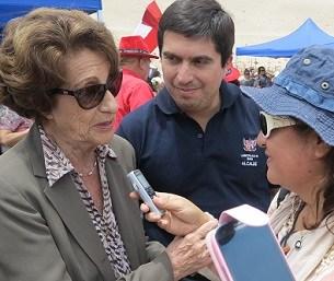 Fallece Angela Jeria, madre de ex Presidenta Bachelet. Tuvo una destacada trayectoria en la defensa de los DDHH