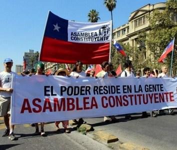 Organizaciones sociales de todo Chile inician Asamblea Constituyente Nacional para elaborar una nueva Constitución