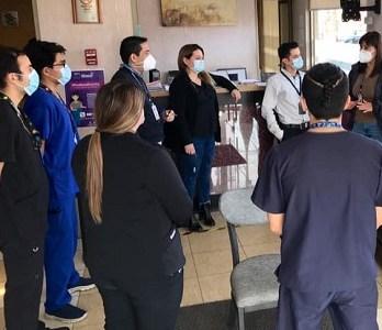 Capacitan a funcionarios de residencias sanitarias para enfrentar posibles emergencias
