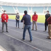 Realizan visita inspectiva al Estadio Tierra de Campeones, anticipándose al regreso del fútbol profesional
