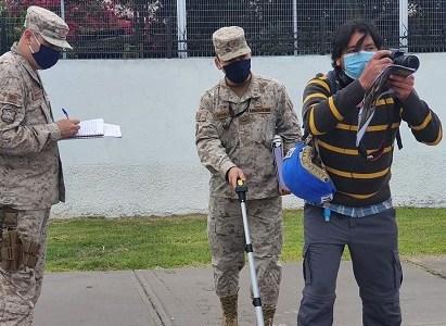 """Reconstitución de escena realizada por Ejército por disparo: Reportero cree que sumario """"terminará en nada"""""""