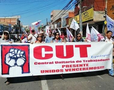 CUT respaldo a trabajadores de la MAHO y se inclina por ley corta para inyectar recursos a municipios